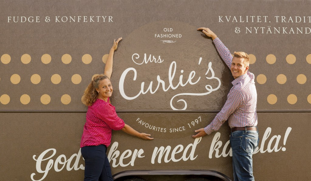 Mrs Curlie´s Marie-Therese och Christian